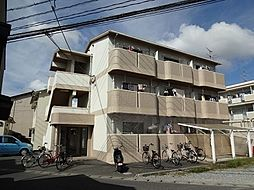 岡山県岡山市北区学南町1丁目の賃貸マンションの外観
