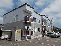 北海道札幌市北区屯田五条9丁目の賃貸アパートの外観