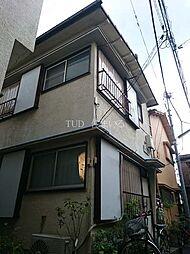 東京都北区赤羽3の賃貸アパートの外観