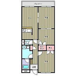 ニューセンチュリーマンション A棟[301号室]の間取り