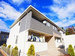 千葉県野田市清水公園東1丁目の賃貸アパートの外観