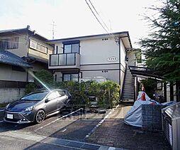京都府京田辺市河原里ノ内の賃貸アパートの外観