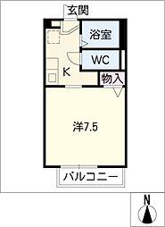 つくし[2階]の間取り