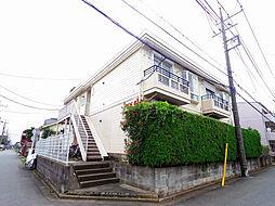 埼玉県所沢市小手指町4丁目の賃貸アパートの外観