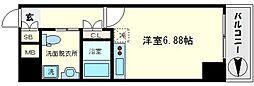 ルネ日本橋anhelo[10階]の間取り