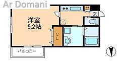 千葉県松戸市大谷口の賃貸アパートの間取り
