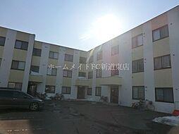 北海道札幌市東区東苗穂五条2丁目の賃貸マンションの外観