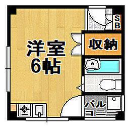 スガヤマンション[3階]の間取り