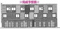 東京都昭島市中神町3丁目の賃貸アパートの外観