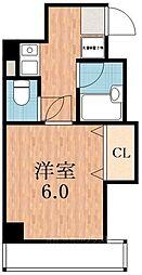 テンヨー四天王寺[2階]の間取り