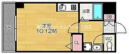ラフィーネ友泉[3階]の間取り
