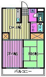 第7岡昭マンション[103号室]の間取り
