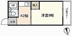 EFT-牛田新町[4階]の間取り