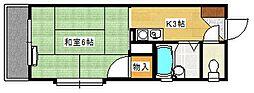 草津東ビル[101号室]の間取り