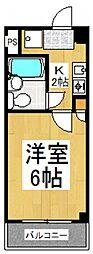 ことぶき壱番館[4階]の間取り