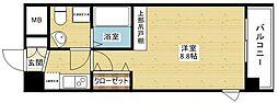 CASSIA十三[3階]の間取り