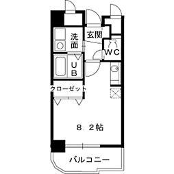 神奈川県川崎市麻生区高石1丁目の賃貸マンションの間取り