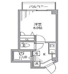 東京都豊島区西巣鴨1丁目の賃貸マンションの間取り