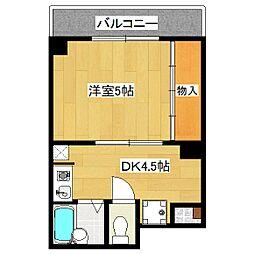 シフォン神泉苑[2階]の間取り