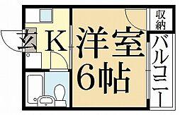 新山荘[2階]の間取り