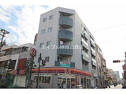 岡山県岡山市北区表町2丁目の賃貸マンションの外観