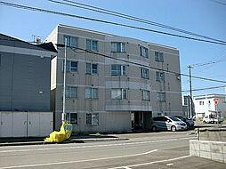 北海道札幌市東区北二十条東14丁目の賃貸マンションの外観