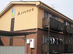 愛知県一宮市木曽川町黒田七ノ通りの賃貸アパートの外観