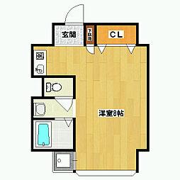 Flat136[4階]の間取り