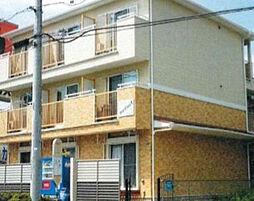神奈川県相模原市中央区上溝4丁目の賃貸アパートの外観