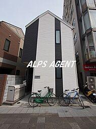 神奈川県川崎市川崎区池田2丁目の賃貸アパートの外観