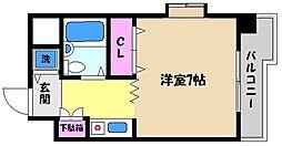兵庫県神戸市東灘区本庄町2丁目の賃貸マンションの間取り