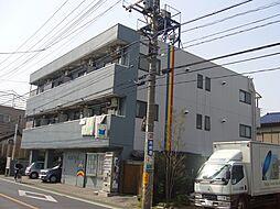 埼玉県草加市神明1丁目の賃貸マンションの外観