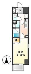 パークフラッツ新栄(旧:ラフィット新栄)[4階]の間取り