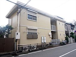 岡田ハイツ[1階]の外観