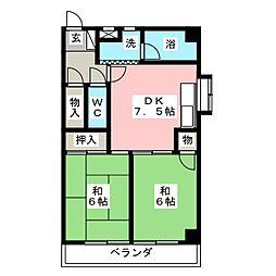 野並第一ビル(旧MIWA第10ビル)[3階]の間取り