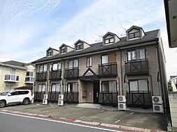 埼玉県本庄市けや木の賃貸アパートの外観