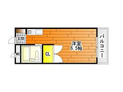 ハートフル青山[1階]の間取り