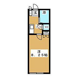 アフロディーテ[1階]の間取り