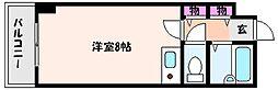 甲南タマタニマンション[1階]の間取り