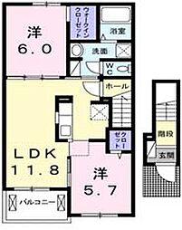 リンク B[2階]の外観