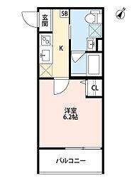 コンパルサ次屋[3階]の間取り