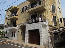 東京都目黒区碑文谷1丁目の賃貸マンションの外観