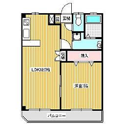 プレステージアルプスII[6階]の間取り