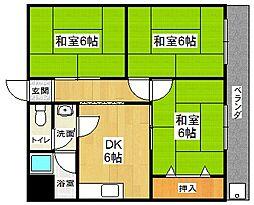 和光荘[2階]の間取り