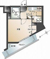 エンクレスト平尾(1001)[10階]の間取り