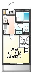 リブリ・チヒロ壱番館[2階]の間取り