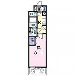 レジデンス堀江西[3階]の間取り