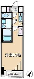 GENOVIA田端IIgreen veil[6階]の間取り