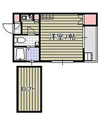 マリノア サンセット[1階]の間取り
