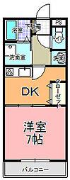 MANSION・AOKI[302号室]の間取り